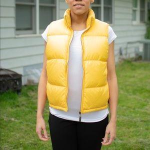 VINTAGE Ralph Lauren Yellow Vest